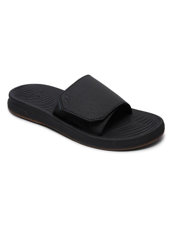 0 Travel Oasis - Sliders for Men Black AQYL100755 Quiksilver