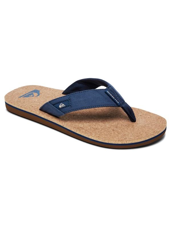 0 Molokai Abyss Cork Sandals Blue AQYL100761 Quiksilver