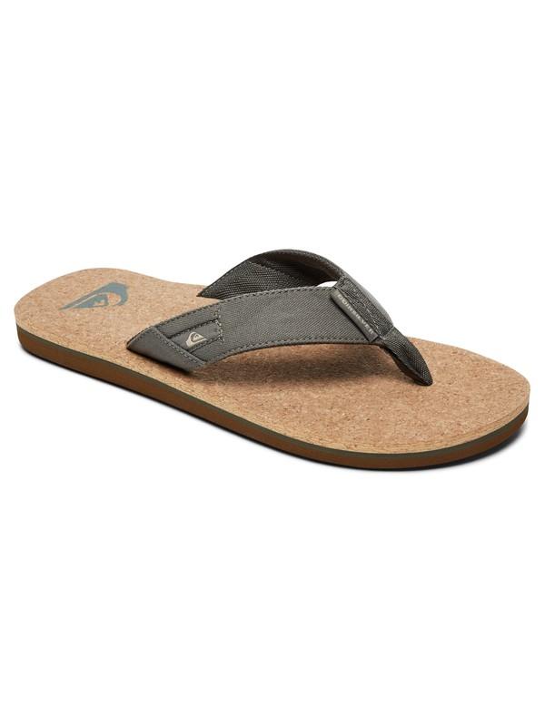 0 Molokai Abyss Cork - Sandals for Men Green AQYL100761 Quiksilver