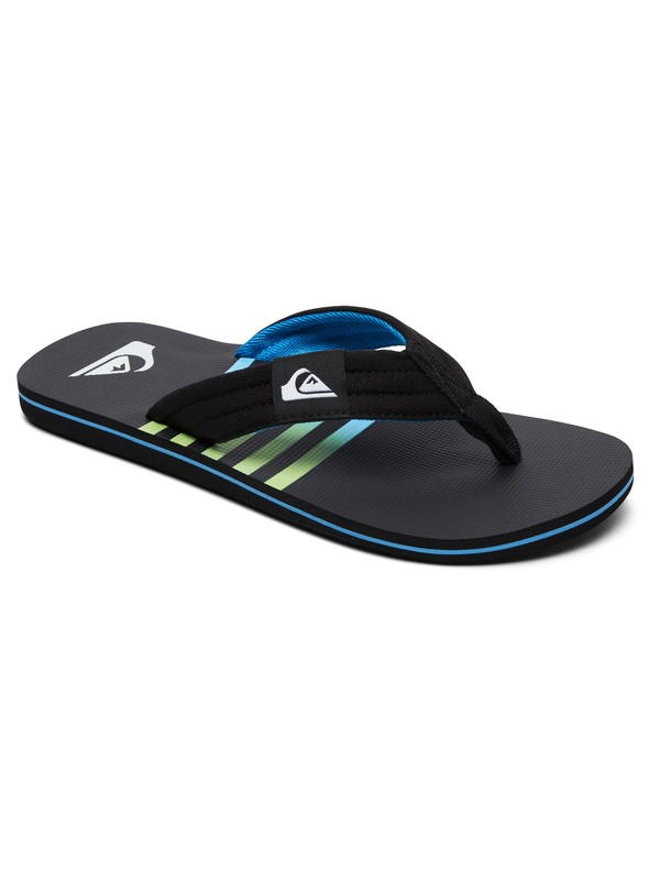 0 Molokai Layback Sandals Black AQYL100784 Quiksilver