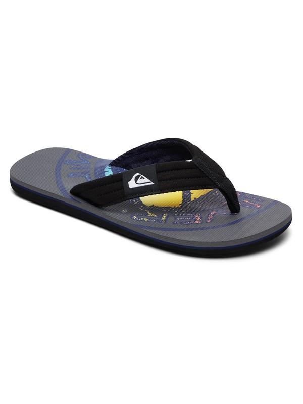 0 Molokai Layback - Sandals for Men Grey AQYL100784 Quiksilver