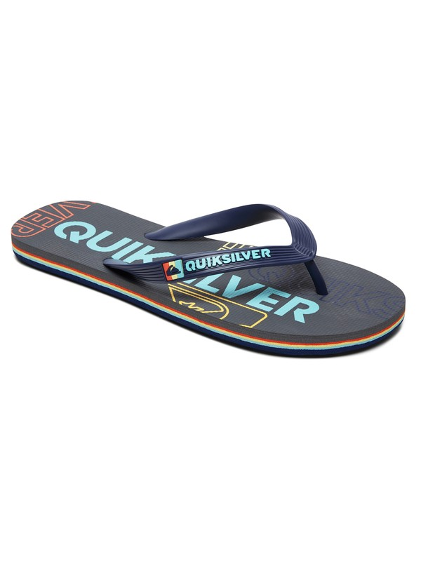 0 Molokai Nitro - Flip-Flops for Men Black AQYL100787 Quiksilver