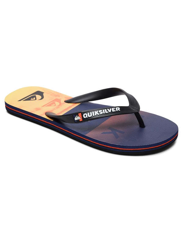 0 Molokai Wordblock - Flip-Flops for Men Multicolor AQYL100788 Quiksilver
