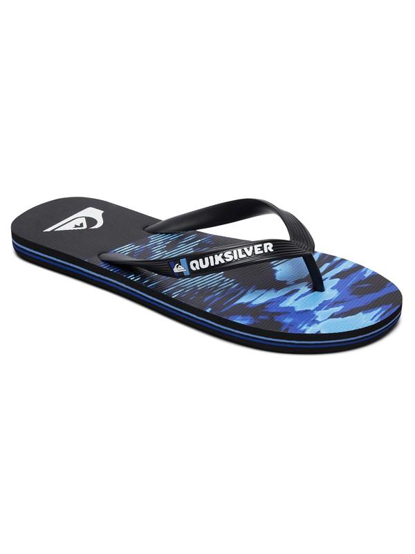 0 Molokai Night Marcher - Flip-Flops for Men Black AQYL100790 Quiksilver