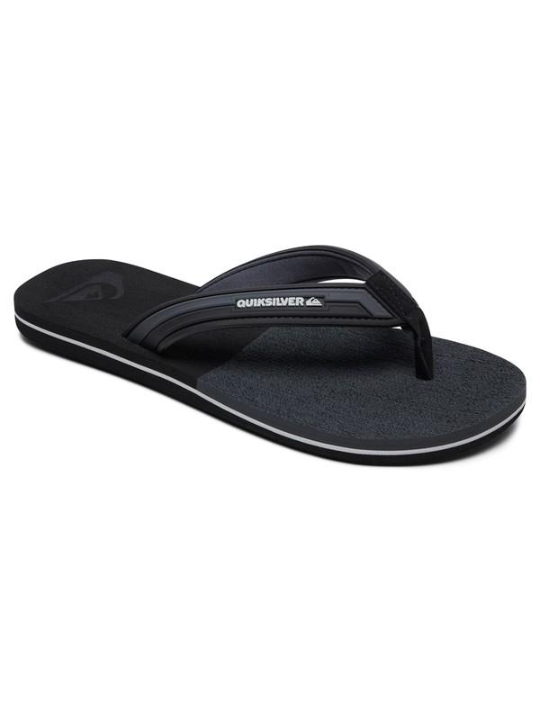 0 Molokai Eclipsed Deluxe - Flip-Flops for Men Black AQYL100806 Quiksilver