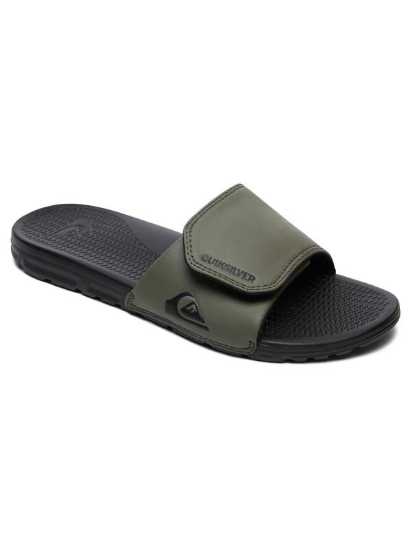 0 Shoreline Adjust Slider Sandals Black AQYL100884 Quiksilver