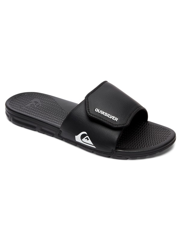 0 Shoreline Adjust Slider Sandals Black AQYL100884 Quiksilver