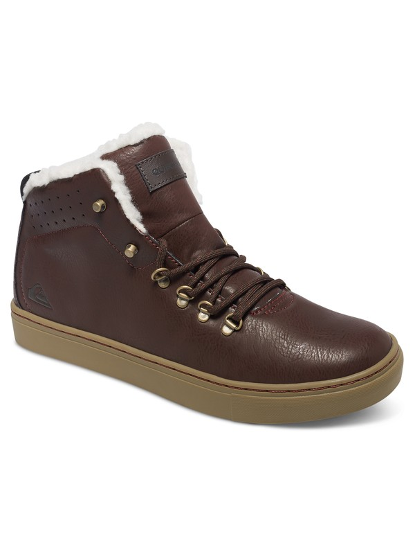0 Jax - Mid-Top Shoes Brown AQYS100014 Quiksilver