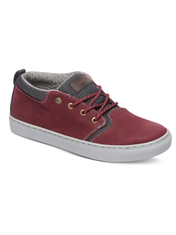 0 Griffin - Mid-Top Shoes Red AQYS100020 Quiksilver