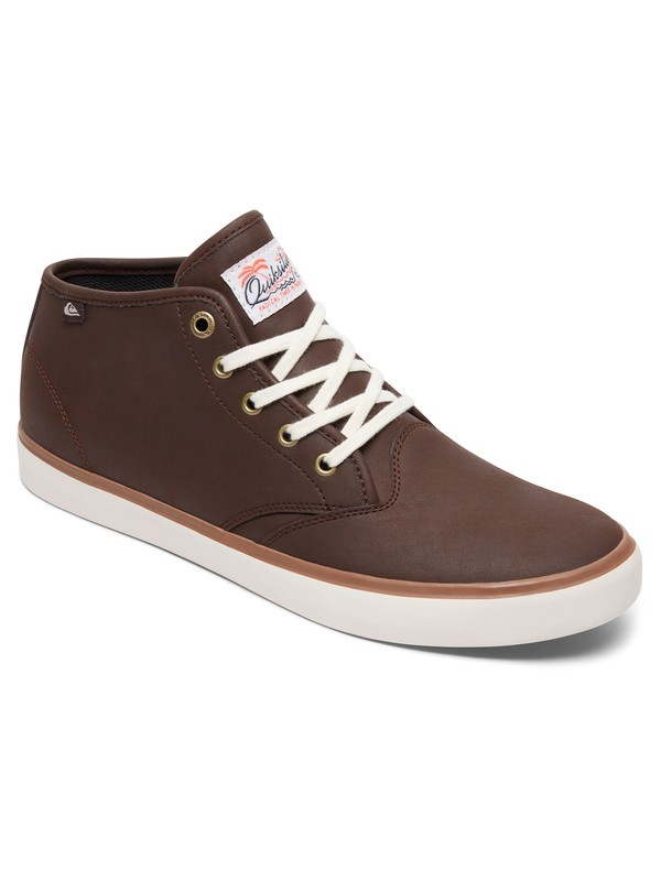 0 Shorebreak Deluxe Mid-Top Shoes Brown AQYS300045 Quiksilver