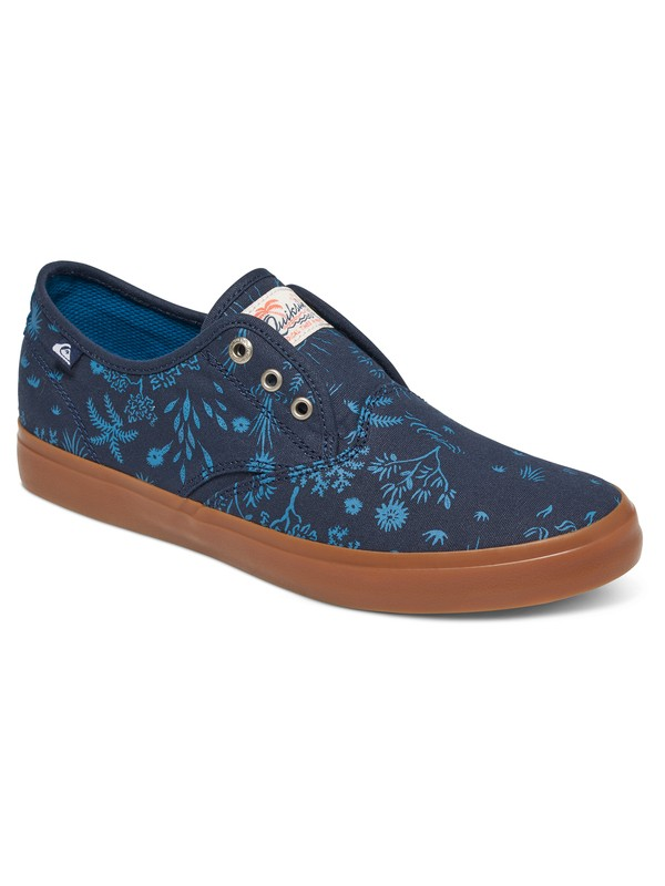 0 Shorebreak Deluxe - Laceable Slip-On Shoes Blue AQYS300061 Quiksilver