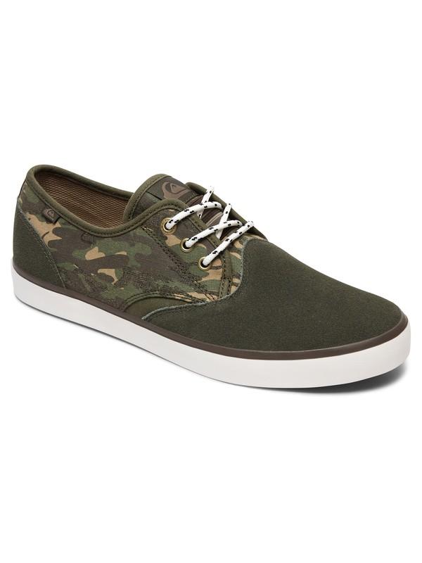 0 Zapatos Deluxe Shorebreak Verde AQYS300061 Quiksilver