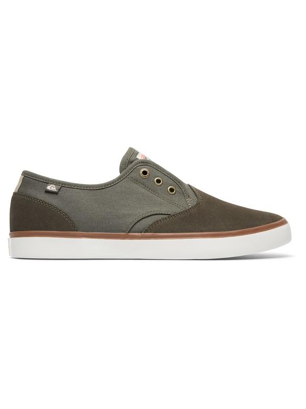 0 Shorebreak Deluxe - Chaussures à enfiler avec lacets Vert AQYS300061 Quiksilver