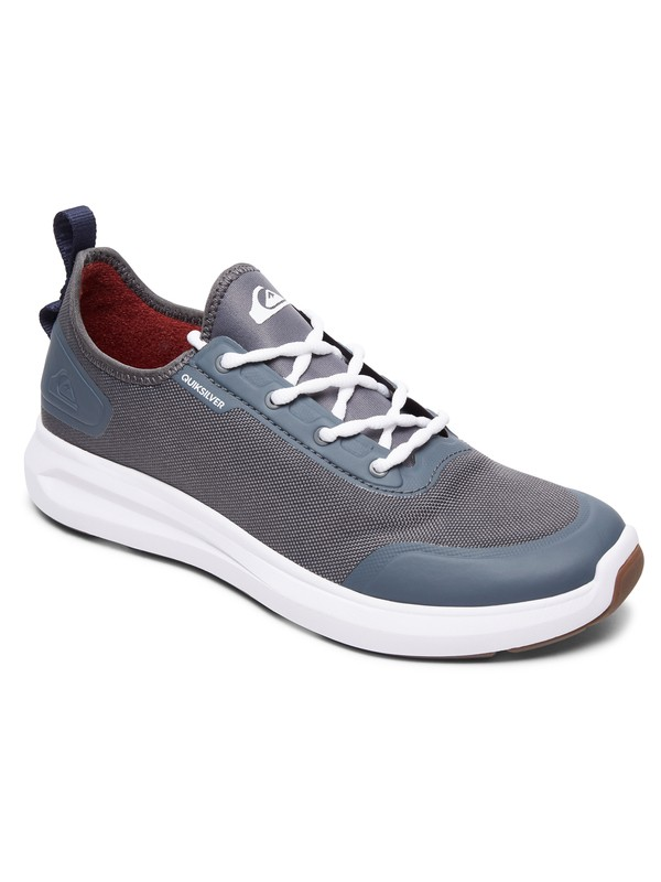 0 Layover Travel Water Resistant Shoes Grey AQYS700045 Quiksilver