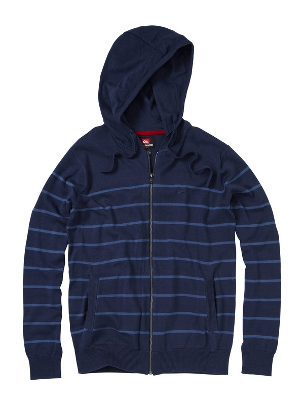 0 Lightburnt Again Zip Sweater  AQYSW00008 Quiksilver