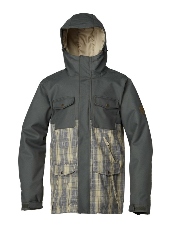0 Reply 10K Insulated Jacket  AQYTJ00016 Quiksilver