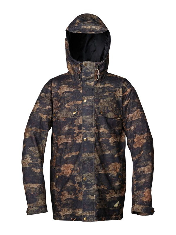 0 Select All 10K Insulated Jacket  AQYTJ00018 Quiksilver
