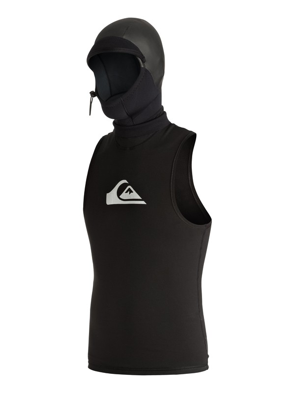 0 Syncro 2mm Polypro Hooded Vest  AQYW003003 Quiksilver