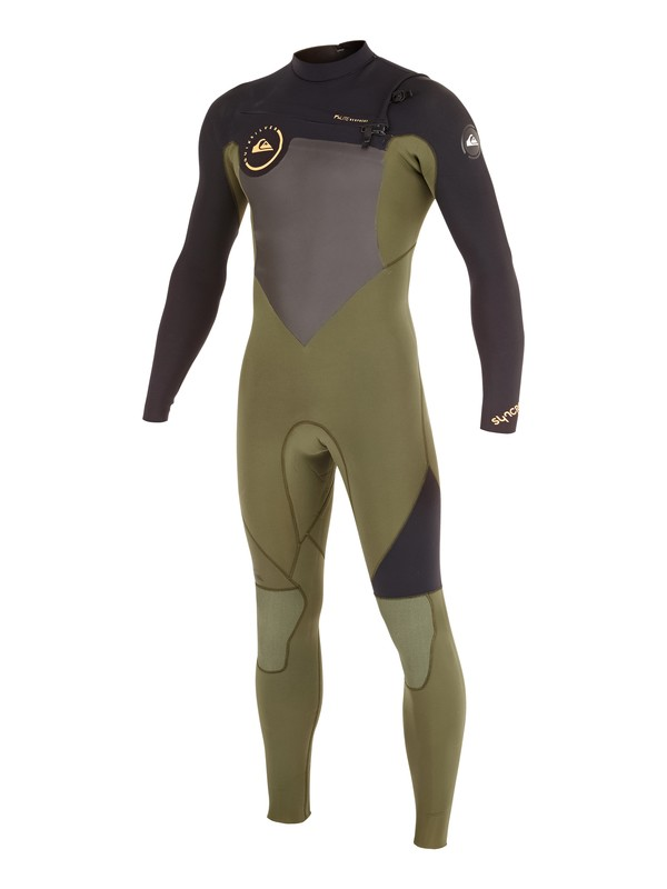 0 Syncro GBS 3/2mm - Chest Zip Wetsuit  AQYW103037 Quiksilver