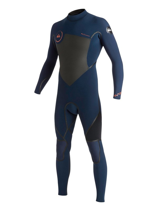0 Syncro LFS 4/3mm Back Zip Wetsuit  AQYW103070 Quiksilver