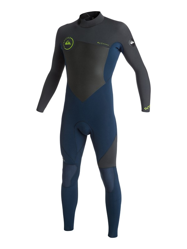 0 Syncro GBS 4/3mm - Back Zip Wetsuit  AQYW103077 Quiksilver