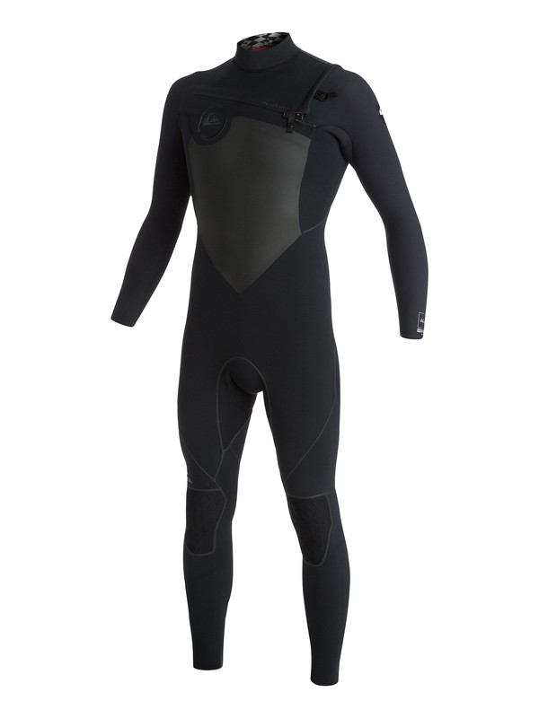 0 AG47 Performance 4/3mm - Combinaison zip poitrine  AQYW103085 Quiksilver