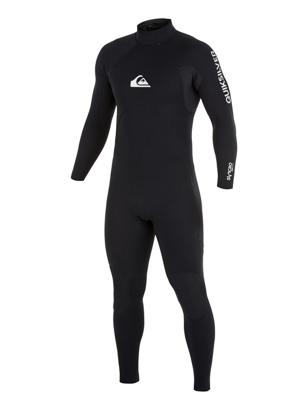 0 5/4/3mm Syncro Base Back Zip Wetsuit Black AQYW103088 Quiksilver