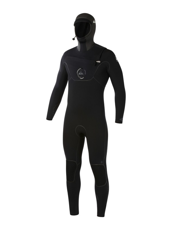 0 Cypher 5/4/3mm Hooded Chest Zip Wetsuit  AQYW203002 Quiksilver