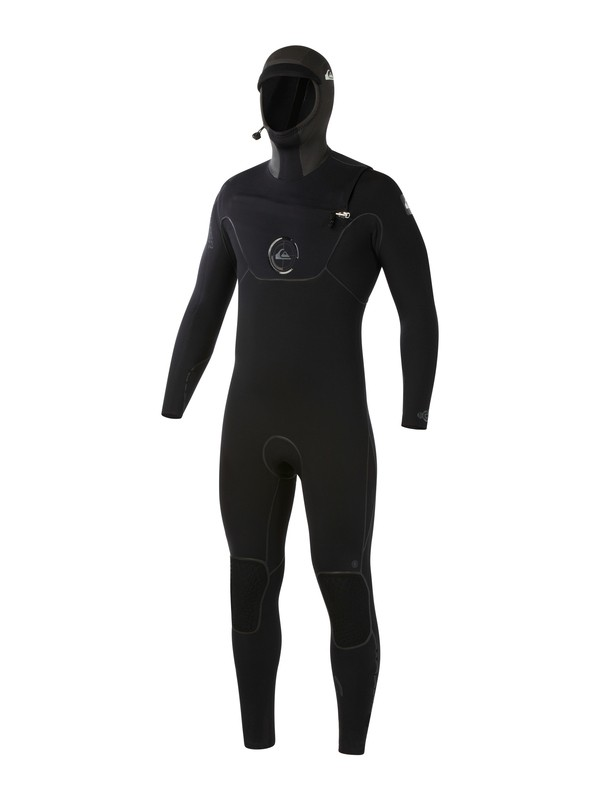 0 Cypher 6/5/4mm Hooded Chest Zip Wetsuit  AQYW203003 Quiksilver