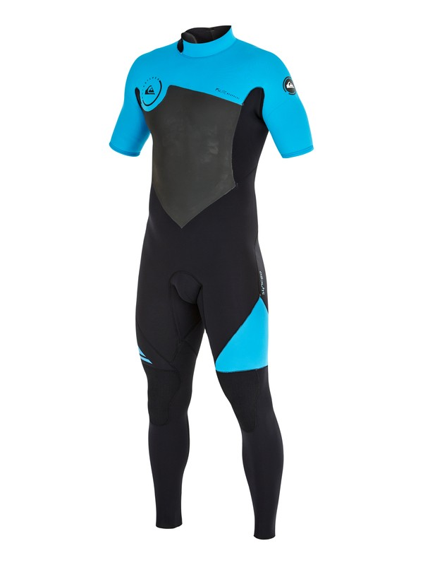 0 Syncro GBS 2/2mm Back Zip Short Sleeve Wetsuit  AQYW303007 Quiksilver