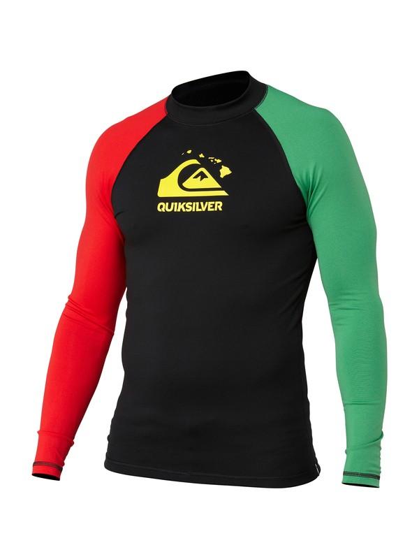 0 Shaka LS Rashguard  AQYWR00056 Quiksilver