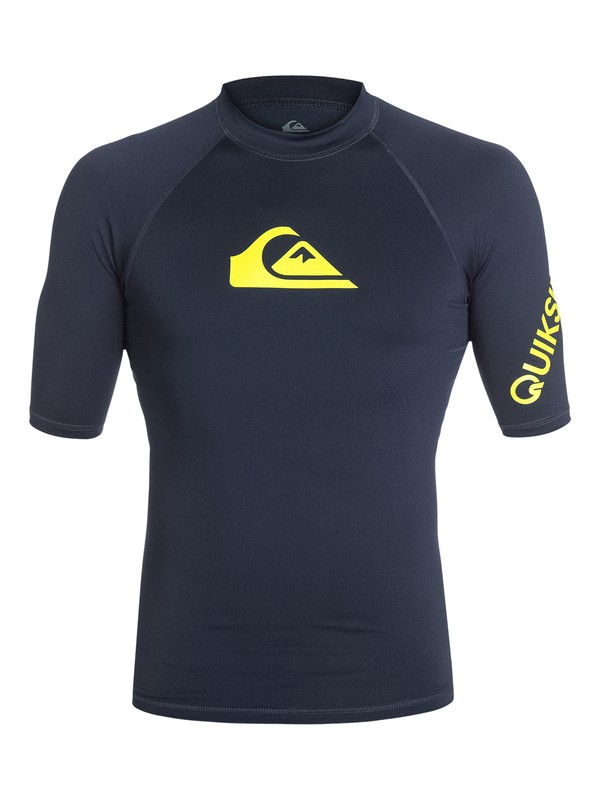 0 All Time Short Sleeve Rashguard  AQYWR03000 Quiksilver