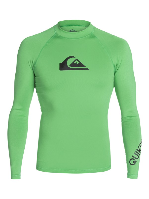 0 All Time Long Sleeve Rashguard  AQYWR03001 Quiksilver