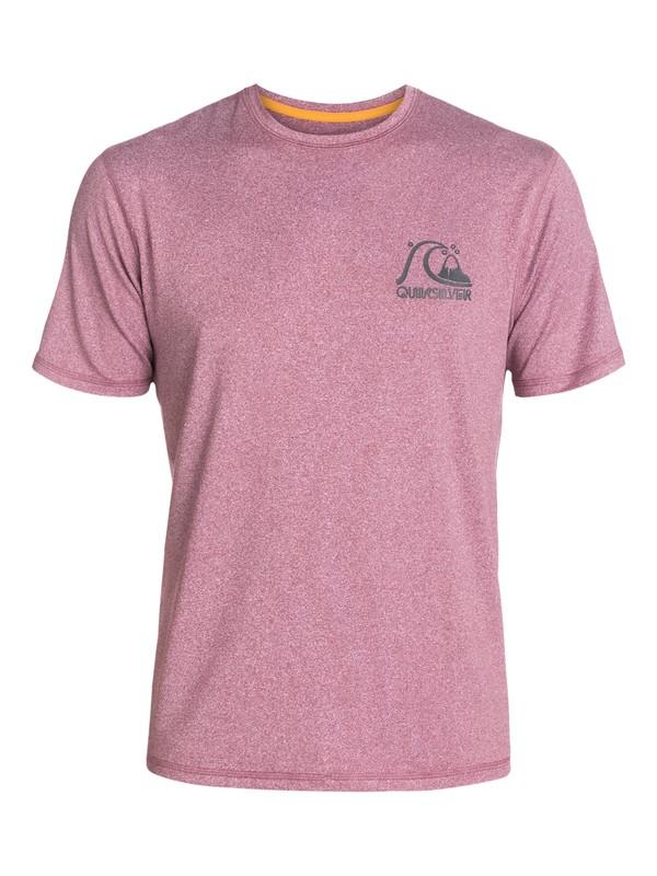 0 Herritage - Short Sleeve T-shirt Fit Rash Vest  AQYWR03010 Quiksilver