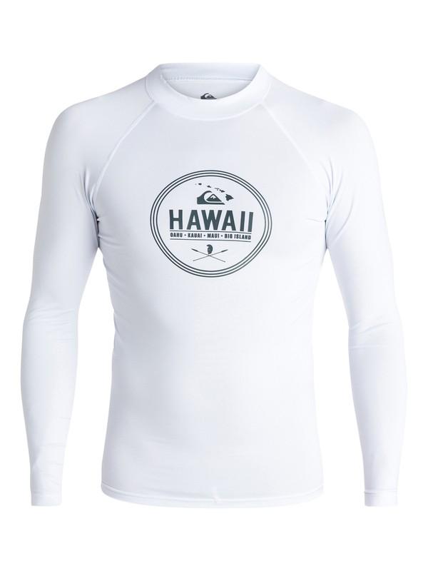 0 Island Style - Long Sleeve Rash Vest  AQYWR03023 Quiksilver