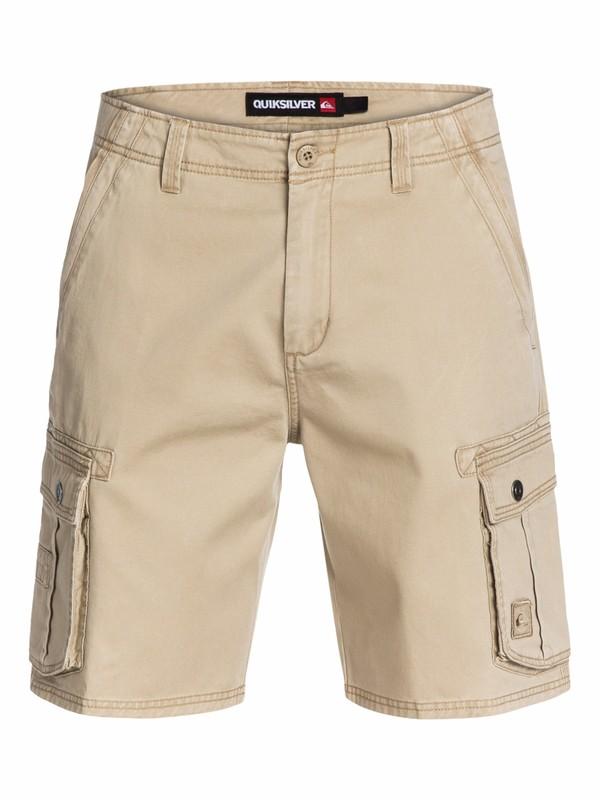 """0 Deluxe Cargo 21"""" Shorts  AQYWS00102 Quiksilver"""