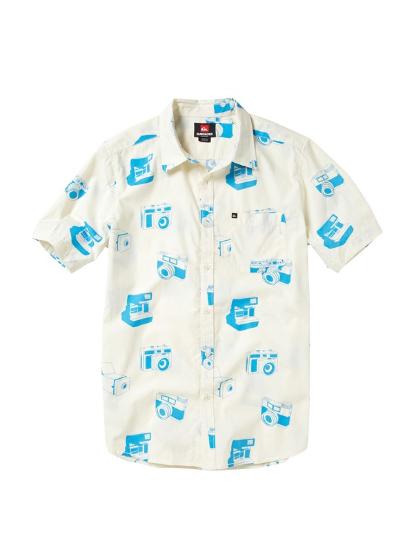 0 Camera Obscura Short Sleeve Shirt  AQYWT00011 Quiksilver