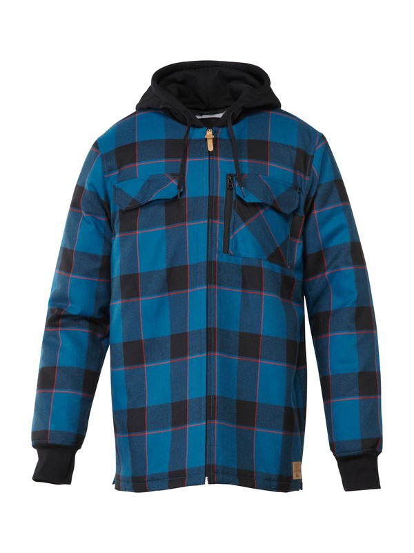0 Connector Flannel Riding  Shirt  AQYWT00129 Quiksilver