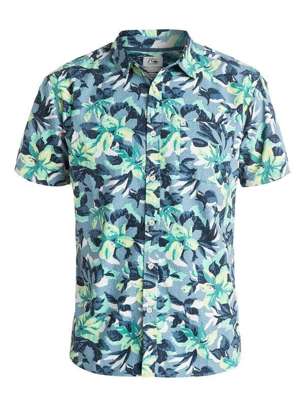 0 Floral Short Sleeve Shirt  AQYWT03045 Quiksilver