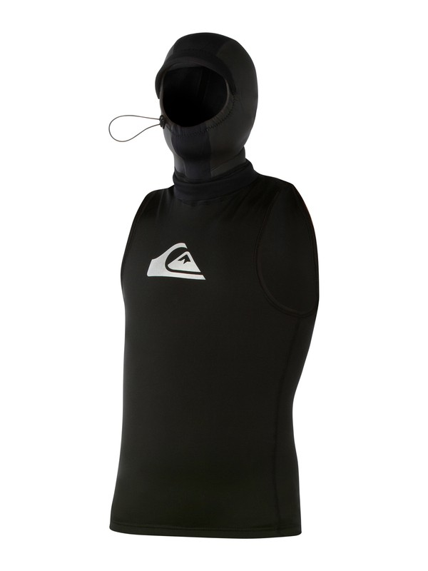0 Syncro Polypro 2mm Hooded Vest  AQYWW03000 Quiksilver