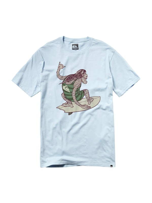 0 Big Foot Slim Fit T-Shirt  AQYZT00563 Quiksilver