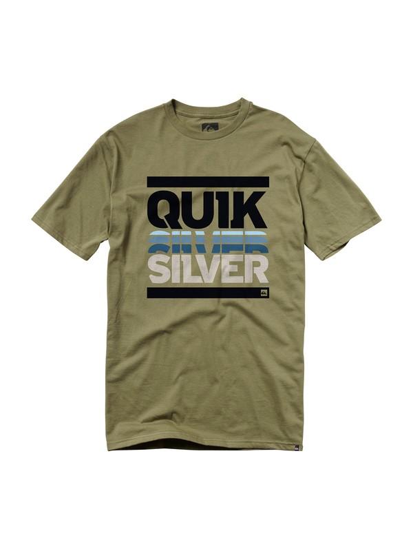 0 Headset Slim Fit T-Shirt  AQYZT00728 Quiksilver