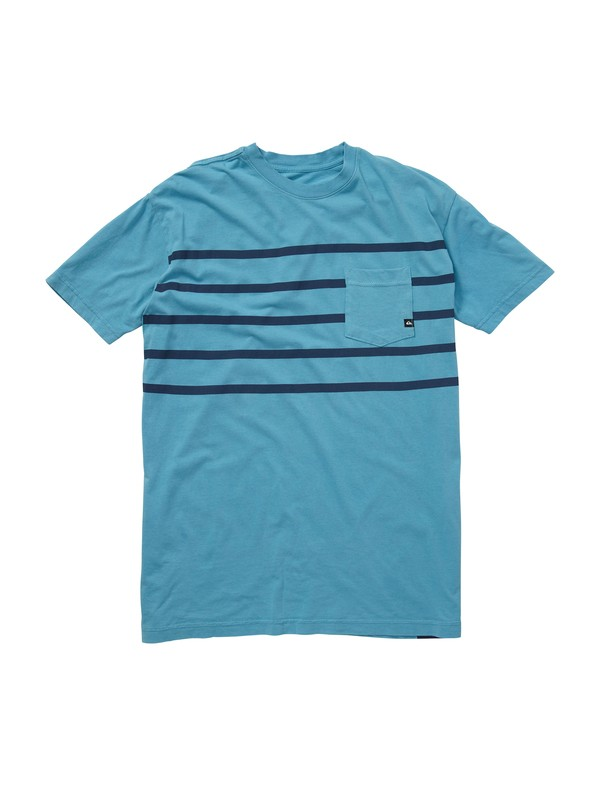 0 Trapped Slim Fit Pocket T-Shirt  AQYZT00826 Quiksilver