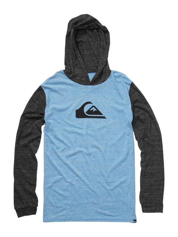 0 Mountain Wave Long Sleeve Hooded T-Shirt  AQYZT00861 Quiksilver