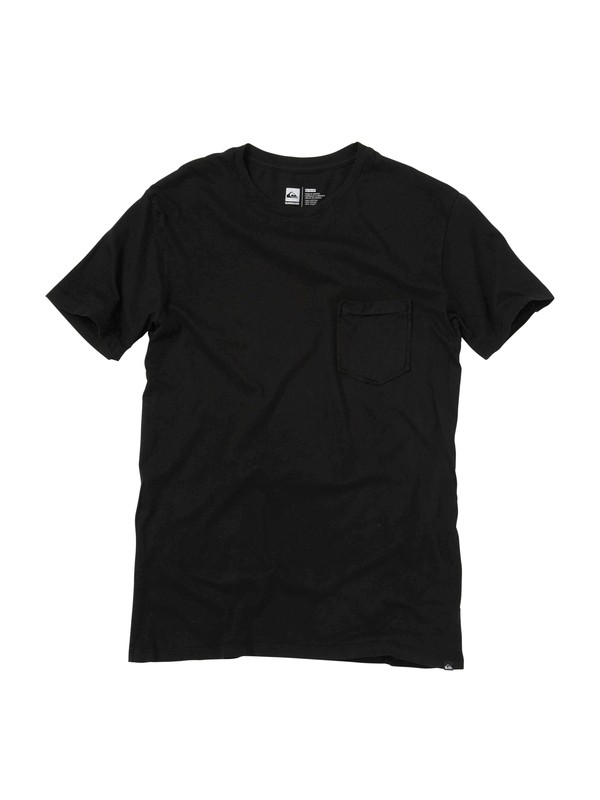 0 Blank Pocket Crew T-Shirt  AQYZT00948 Quiksilver