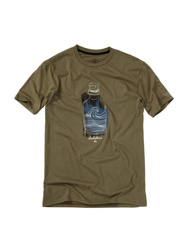 0 Future Scan Slim Fit T-Shirt  AQYZT01145 Quiksilver