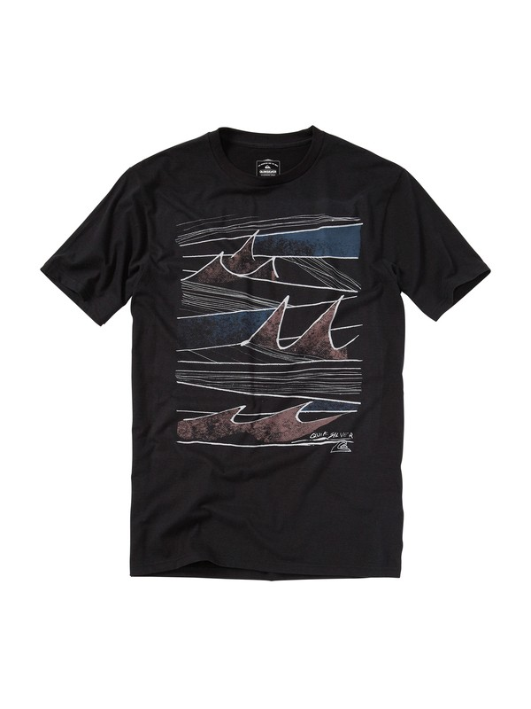 0 Trip On Slim Fit T-Shirt  AQYZT01146 Quiksilver
