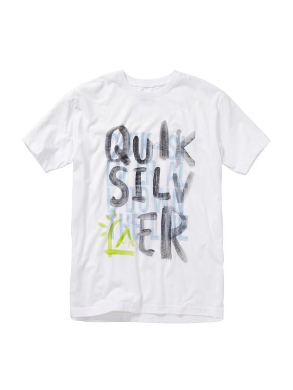 0 The Line Slim Fit T-Shirt  AQYZT01160 Quiksilver