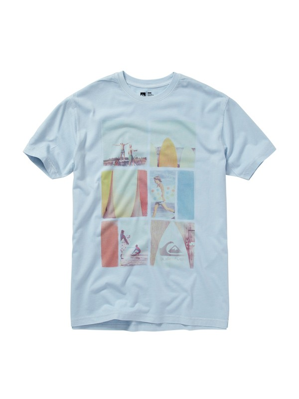 0 Echo Slim Fit T-Shirt  AQYZT01172 Quiksilver