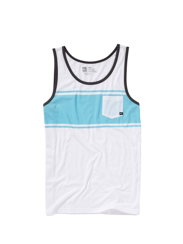 0 Freestyle Slim Fit Tank  AQYZT01178 Quiksilver
